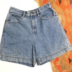 Vintage Liz Claiborne High Rise Mom Jean Shorts